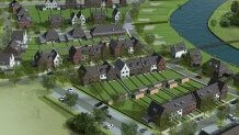 Nieuwe Gooye Dirksland - Bird View