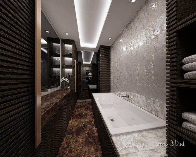 PR4488 badkamer 3D interieur prinsengracht